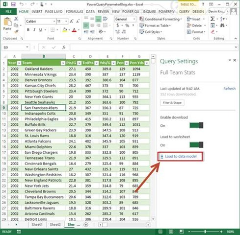 Using Parameters in Power Query Extracts – Devin Knight
