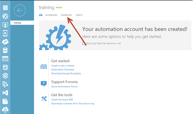 Setting up Automation in Azure – Devin Knight