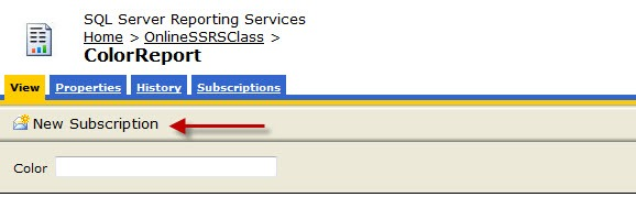 Creating a Reporting Services Subscription – Devin Knight