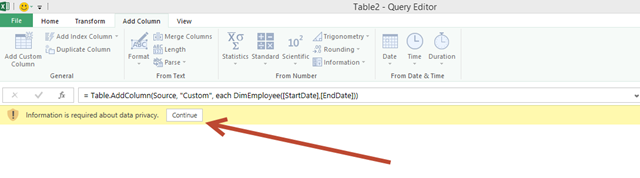 Power Query – Controlling M Query Functions with User Driven