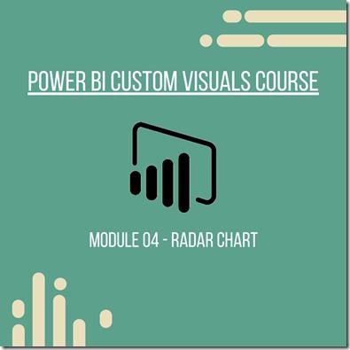 Power BI Module 04 - Radar Chart