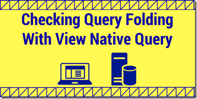 View Native Query